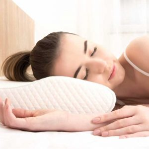 Premium neck support sleeping pillow product image b