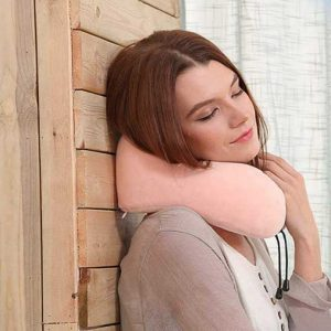Memory Foam Travel Pillow for neck support