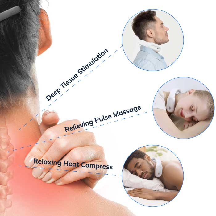 neck massager for neck pain relief