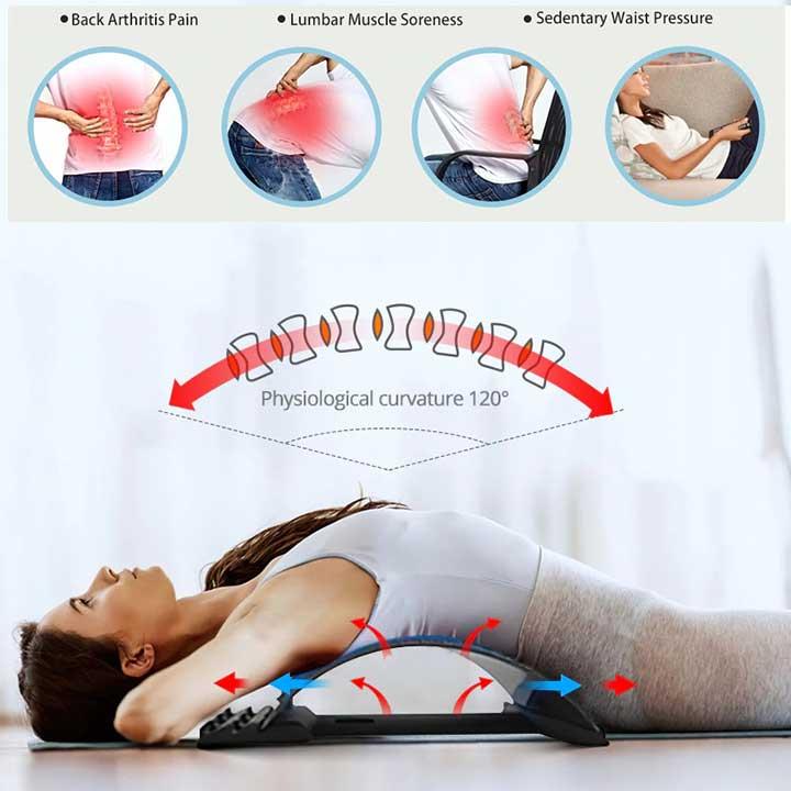 Back Stretcher Massager Arch Device