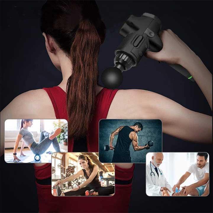 Percussion deep tissue massager