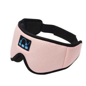 Bluetooth-Sleeping-Eye-Mask-Pink