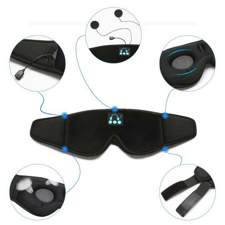 Sleeping Mask With Bluetooth