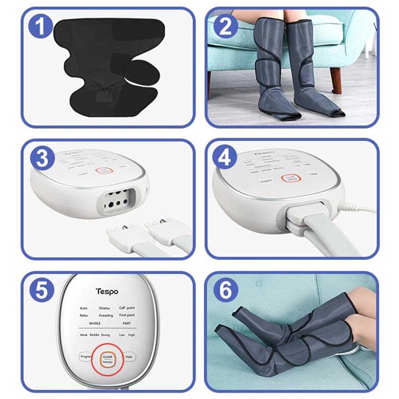 leg pressure massager