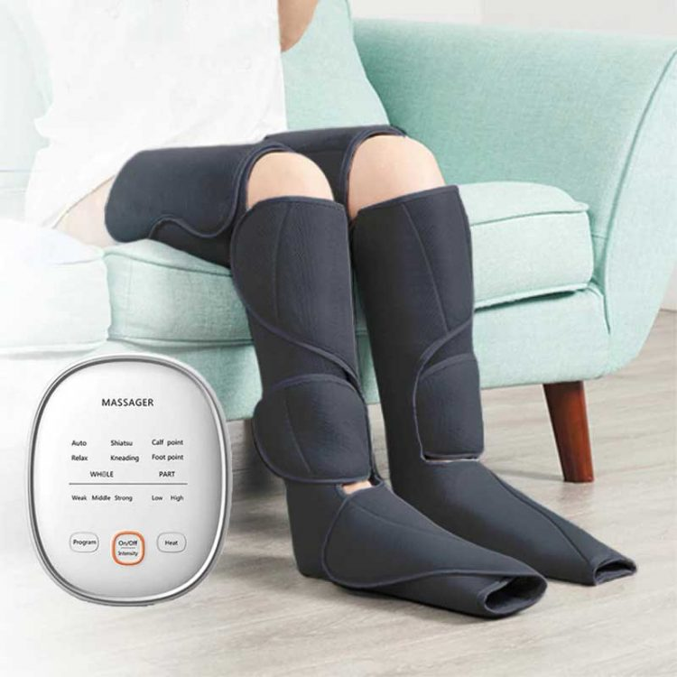 Product Image Leg Massager With Heat and Compression 8